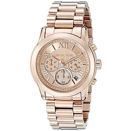 Michael Kors MK6275 Rose Gold Dial Rose Gold Chronograph 39mm Womens Watch