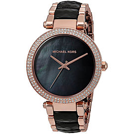 Michael Kors MK6414 Rose Gold Tone Stainless Steel 39mm Womens Watch