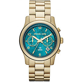 Michael Kors MK8315 Gold Tone Stainless Steel 45mm Mens Watch