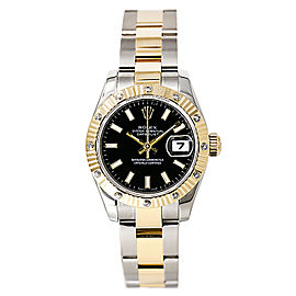 Rolex Datejust 179313 Stainless Steel / 18K Yellow Gold 26mm Womens Watch