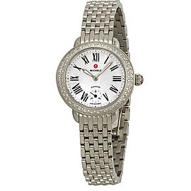 Michele MWW21E00001 Stainless Steel Quartz 26mm Womens Watch