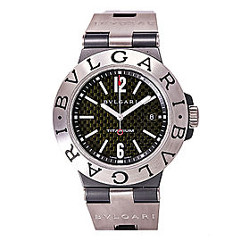 Bulgari Diagono TI44tA Rubber / Titanium Automatic 44mm Mens Watch
