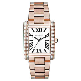Michael Kors MK3255 Rose Gold Tone Stainless Steel Quartz 36mm Womens Watch