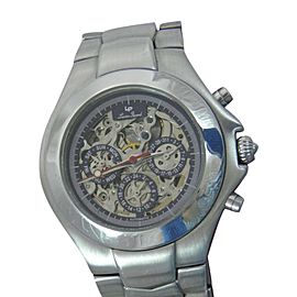 Lucien Piccard W/R 26503BU Stainless Steel Manual 40mm Mens Watch
