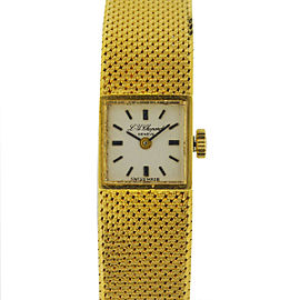 Chopard 18K Yellow Gold 12mm Womens Watch