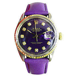 Rolex Datejust Vintage 36mm Mens Watch