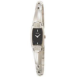 Seiko SZZC51 Silver-Tone Stainless Steel Quartz 15mm Womens Watch