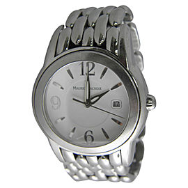 Maurice Lacroix SH1018 AG43015 Stainless Steel Quartz 39mm Mens Watch