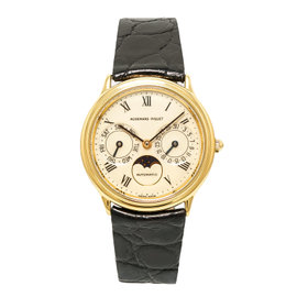 Audemars Piguet Moonphase 25589BA 18K Yellow Gold 33mm Automatic Womens Watch