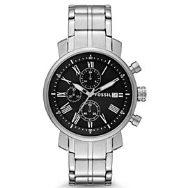 Fossil BQ1000 Stainless Steel Quartz 42mm Mens Watch