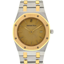 Audemars Piguet Royal Oak 5398 Stainless Steel & 18K Yellow Gold Quartz 37mm Unisex Watch