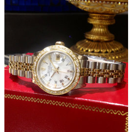 Rolex Date 69173 25mm Womens Watch