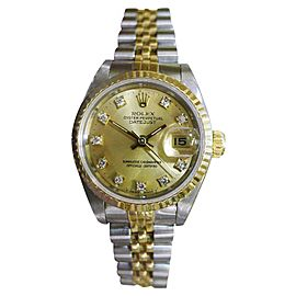 Rolex Datejust 69173 25mm Womens Vintage Watch