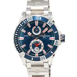 Ulysse Nardin Marine Diver 263-10 Stainless Steel 44mm Mens Watch
