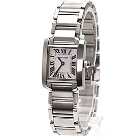 Cartier Tank Francaise M5102803 19mm Womens Watch