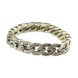 David Yurman 925 Sterling Silver Maritime Curb Link Bracelet