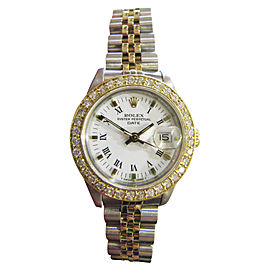 Rolex Datejust 69173 Stainless Steel and 18K Yellow Gold 25mm Womens Watch