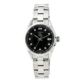 Tag Heuer Carrera WV1410 Stainless Steel 28mm Quartz Womens Watch
