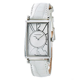 Tiffany & Co. Gallery Stainless Steel Quartz 23mm Womens Watch