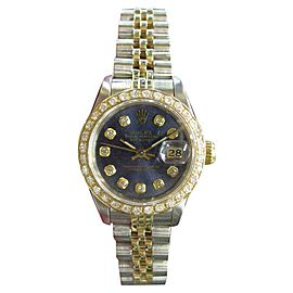 Rolex Oyster Perpetual Datejust 69173 26mm Womens Watch