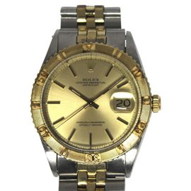 Rolex Datejust 1625 18K Yellow Gold & Stainless Steel Automatic Vintage 36mm Mens Watch 1973