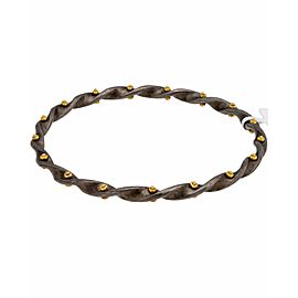 Gurhan 24K Yellow Gold Sterling Silver Bracelet