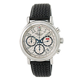 Chopard Mille Miglia 8331 Stainless Steel & Rubber Silver Dial Automatic 39mm Mens Watch