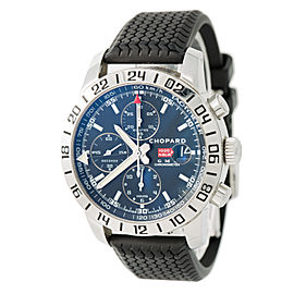 Chopard Mille Miglia GMT 8992 Stainless Steel & Rubber Black Dial Automatic 42mm Mens Watch