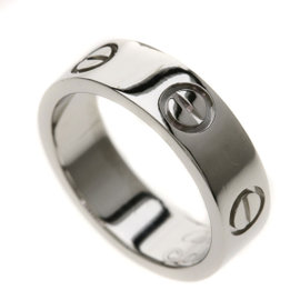 Cartier Love PT950 Platinum Ring Size 4.75