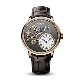 Arnold & Son DSTB 1ATAR.S01A.C120A Men's Automatic Watch 18K Rose Gold 44MM
