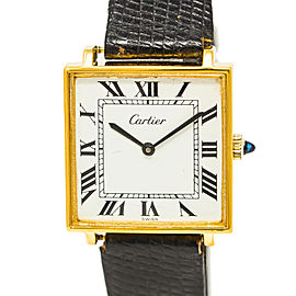 Cartier Tank Square Vintage 30mm Mens Watch