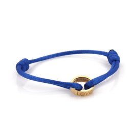 Cartier Love 18K Yellow Gold with Cord Bracelet