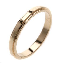 Cartier Damure 18K Rose Gold Wedding Ring Size 4.25