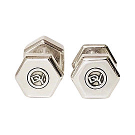 David Yurman 925 Sterling Silver Bolted Cufflinks