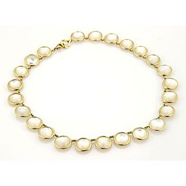 Ippolita Lollipop 18K Yellow Gold Mother Of Pearl, Pearl Necklace