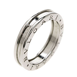 Bulgari B-zero XS Ring 18K White Gold Size 7.75