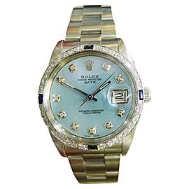 Rolex Oyster Perpetual 1500 34mm Mens Watch