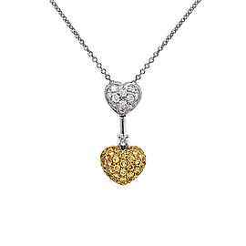 Due Cuori | Un Amore Pendant Necklace
