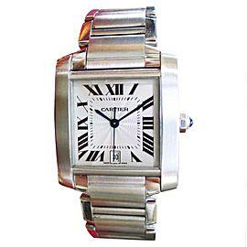 Cartier Tank Francaise 2302 28mm Men's Watch