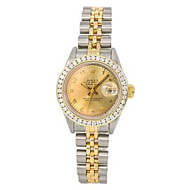 Rolex Datejust 69173 28mm Womens Watch