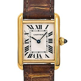Cartier Tank Louis 2442/W1529856 26mm Womens Watch