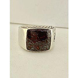 David Yurman Sterling Silver Ring Size 10