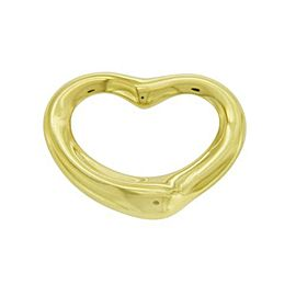 Tiffany & Co. Elsa Peretti 18K Yellow Gold Heart Pendant