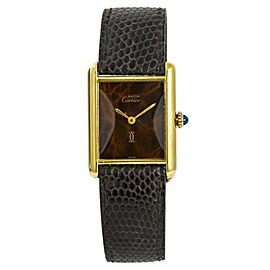 Cartier Tank Vermeil W520892 23mm Womens Watch