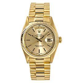 Rolex Day-Date 18038 Vintage 35mm Mens Watch