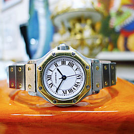 Cartier Santos Vintage 29mm Womens Watch