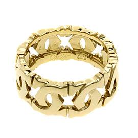 Cartier 18K YG Entrelaces Ring