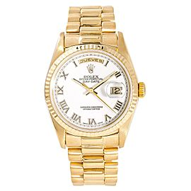 Rolex Day-Date President 18238 35mm Mens Watch