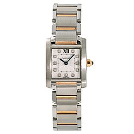 Cartier Tank Francaise 3217 WE110004 20mm Womens Watch