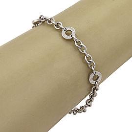 Bulgari 18K White Gold Bracelet